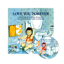 Love You Forever by Robert Munsch [ Paperback + 1 CD, Age 3 - 7 ] Kids Book