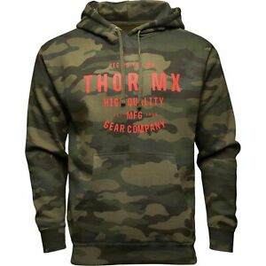 Thor Crafted Mens Pullover Hoody Camo