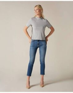 7 For All Mankind Cropped Skinny Jeans 31