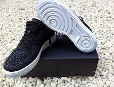 Nike Da Donna AF1 Air 1 Ultra Force Flyknit Basso Scarpe Da Ginnastica 820256 001 UK 4.5 NUOVO CON SCATOLA