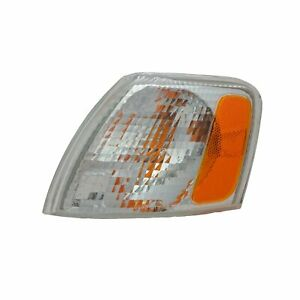 Parking/Corner Turn Signal Light for 98-01 Volkswagen Passat (White) Left Side