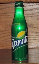 NM 2014 USA LE Coca-Cola SPRITE 8.5 oz GREEN ALUMINUM BOTTLE w/ORIGINAL CONTENTS