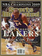 2009 Lakers NBA Champions Commemorative Sports Illustrated Magazine Kobe Bryant