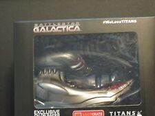 "Battlestar Galactica Lootcrate Exclusive Cyclon Raider 4.5"" Titans Vinyl Figures"