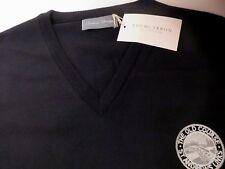"St Andrews Links Old Course mens black sleeveless vest jumper golf 46"" chest NEW"