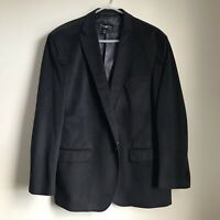 Pronto Uomo Suit Jacket Soft Mens XXL Black NWT Two Button Sport Coat Polyester