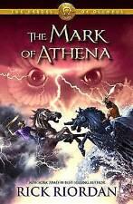 The Heroes of Olympus, Book Three The Mark of Athena , HC , Rick Riordan - NEW