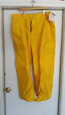 """Western Shelter Systems """"Crew Boss"""" FR Cotton Pants, XXL x 30, Yellow"""