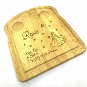 Personalised Breakfast Board - Personalised Engraved Dippy Egg & Soldiers