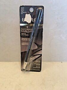Revlon photoready kajal matte eye pencil #301 matte coal