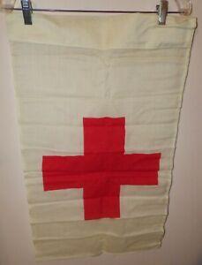 US ARMY VIETNAM ERA RED CROSS FLAG - UNUSED SEALED IN PACKAGE -1971