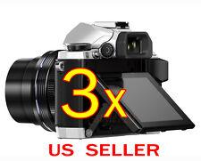 3x Olympus OM-D E-M5 /E-M10 MarkII Clear LCD Screen Protector Guard Shield Film