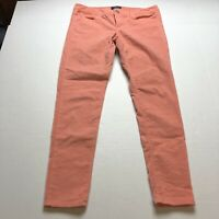 American Eagle Coral Corduroy Jegging Skinny Pants Size 10 A1729