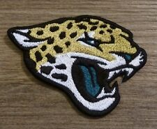 Iron On Sew On Patch Jacksonville Jaguars logo Handmade Embroidery Embroidered