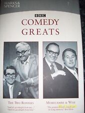 Marks & Spencer BBC Comedy Greats The Two Ronnies Morecambe & Wise 2 VHS Video
