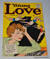 Young Love V6 #5 Prize Comic Book 1963 Fine Kirby Art