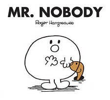 NEW (47)  MR NOBODY ( BUY 5 GET 1 FREE book )  Little Miss Mr Men