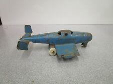 Vintage 1930's Wyandotte Folding Wings Pressed Steel Toy Plane