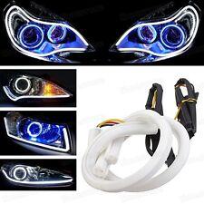 60cm LED Strip Lights DRL Xenon White Headlight Retrofit Daytime Running Lights