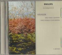 C.D.MUSIC   B919  VIVALDI  THE FOUR SEASONS   TWO VIOLIN CONCERTOS  CD
