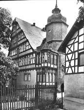 Gorsleben -Kr. Artern, der Schieferhof ,ein Denkmal histor. Fachwerkbaukunst