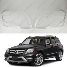 Mercedes GLK X204 OEM Headlight Glass Headlamp Lens Plastic Cover (PAIR)