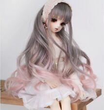 "New 1/6 Girl BJD SD DOC DOD LUT Doll Wig Long Dollfie 6"" Bjd Doll Wig FB30"