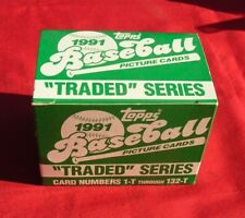 1991 Topps Traded Complete 132-Card Factory Set