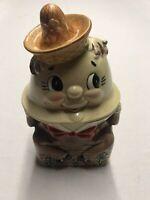 Vintage 1950's Humpty Dumpty Cookie Jar Made In Japan