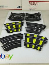 Artin 1:43 Slot Car Racing Replacement 2-Lane Concave and banking curve lot of 6