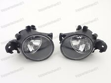 1Pair Front Bumper Fog Lights Driving Lamps L+R for Nissan Sentra 2016-2017