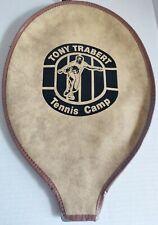 Vintage Tony Trabert Tennis Camp Racket Cover