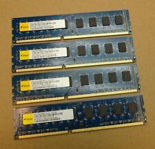 8GB Kit (4 x 2GB) Elixir M2F2G64CB88G7N-CG PC3-10600U 1Rx8 DDR3 Computer Memory