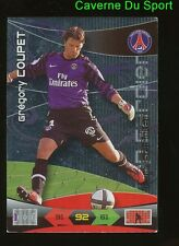 COUPET PSG PARIS.SG TOP GARDIEN METAL CARD ADRENALYN PANINI FOOT 2011 - O