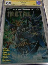 Dark Nights metal 2 cgc 9.8