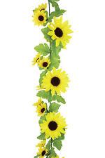 Artificial Sunflower Flower Decorating Garland 180 cm Home or Wedding Decoration