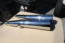 MAC REPLACEMENT Megaphone Mufflers HONDA CB750 CB750A 69-76 LEFT Muffler  Chrome