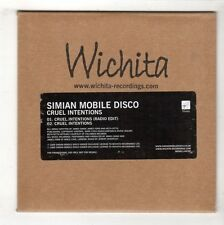 (HB286) Simian Mobile Disco, Cruel Intentions - 2009 DJ CD