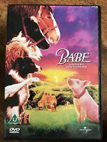BABE ~ 1995 Pig / Australian Piglet Sheepdog Classic Classic   UK DVD