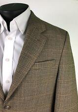 Lauren Ralph Lauren LRL 2Btn Sport Coat Jacket Brown Glenn Plaid Check 38Reg