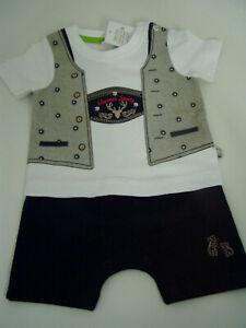 Baby Body Lederhose Liegelind Strampler Tracht Gr. 68 Trachtenbody Wiesn NEU