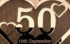 50th , WEDDING ANNIVERSARY KEEPSAKE GIFT, PERSONALISED MUM DAD NAN GRANDAD