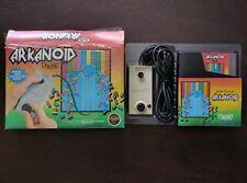 Arkanoid (Nintendo NES, 1987) Tested Complete w Box Manual Vaus Controller Nice!