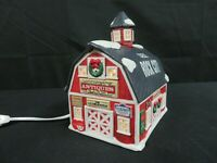 Coca-Cola Towne Square Collection Mooney's Antique Barn Lighted Building HE416