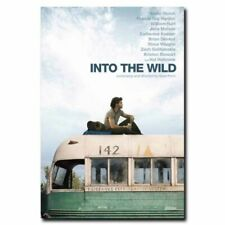 Into the Wild 24x36inch Emile Hirsch Classic Movie Silk Poster Art Print Decals