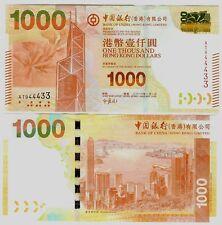 HONGKONG HONG KONG $ 1000 1.000 BANK OF CHINA 2010 UNC P 345 a