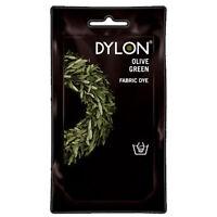 Verde Oliva Dylon Lavaggio a Mano Tessuto Vestiti Tinta 50g Colore Permanente