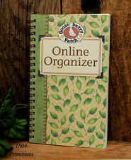 Online Email Address ~ Userid ~ and Password Organizer  ~  LEAF Design *