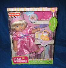 FISHER PRICE LITTLE MOMMY SWEET AS ME BIRTHDAY WISHES DOLL NEW L9158