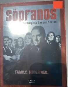 The Sopranos - The Complete Second Season (DVD, 2013, 4-Disc Set) Unopened New
